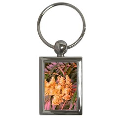Pale Yellow And Green Sideways Sumac Key Chains (rectangle)