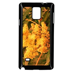 Yellow Sideways Sumac Samsung Galaxy Note 4 Case (black)