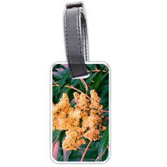 Green And Gold Sideways Sumac Luggage Tags (two Sides)