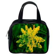 Yellow Sumac Bloom Classic Handbag (one Side)
