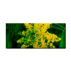 Yellow Sumac Bloom Hand Towel