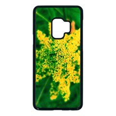 Yellow Sumac Bloom Samsung Galaxy S9 Seamless Case(black)