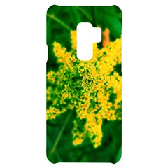 Yellow Sumac Bloom Samsung S9 Plus Black Uv Print Case