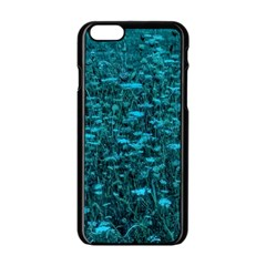 Blue Green Queen Annes Lace Hillside Iphone 6/6s Black Enamel Case