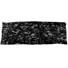 Black And White Queen Anne s Lace Hillside Body Pillow Case Dakimakura (two Sides)