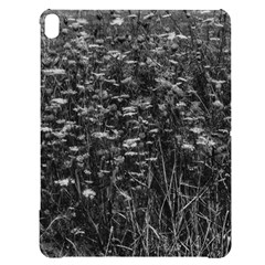 Black And White Queen Anne s Lace Hillside Apple Ipad Pro 12 9   Black Uv Print Case