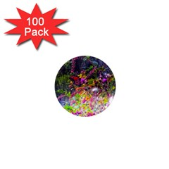 Magic Butterfly 1  Mini Magnets (100 Pack)