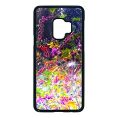 Magic Butterfly Samsung Galaxy S9 Seamless Case(black)