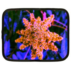 Yellow, Pink, And Blue Sumac Bloom Netbook Case (xl)