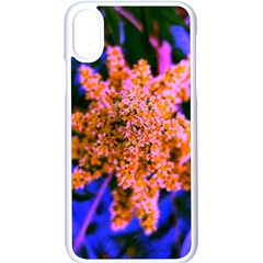 Yellow, Pink, And Blue Sumac Bloom Iphone X Seamless Case (white)