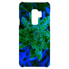 Blue And Green Sumac Bloom Samsung S9 Plus Black Uv Print Case