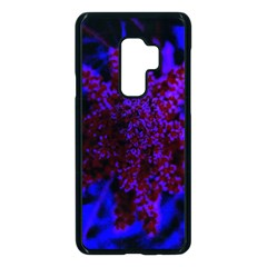 Maroon And Blue Sumac Bloom Samsung Galaxy S9 Plus Seamless Case(black)