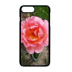 Pink Rose Iphone 7 Plus Seamless Case (black)