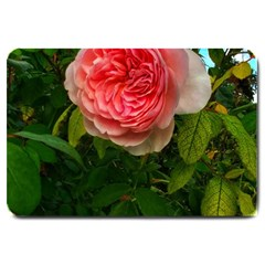 Complex Pink Rose Large Doormat