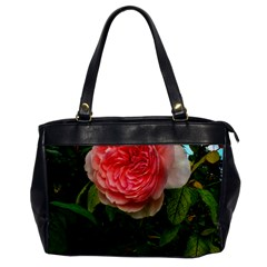 Complex Pink Rose Oversize Office Handbag