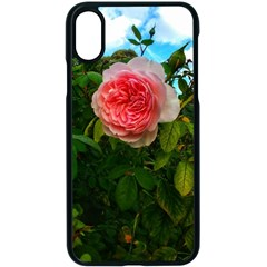 Complex Pink Rose Iphone Xs Seamless Case (black)