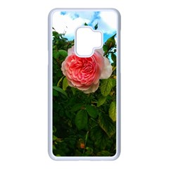 Complex Pink Rose Samsung Galaxy S9 Seamless Case(white)