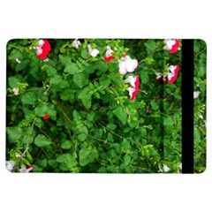 Red And White Park Flowers Ipad Air Flip by okhismakingart
