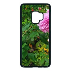 Light Pink Roses Samsung Galaxy S9 Seamless Case(black)