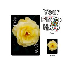Pale Yellow Rose Playing Cards 54 (mini)