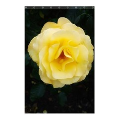 Pale Yellow Rose Shower Curtain 48  X 72  (small)