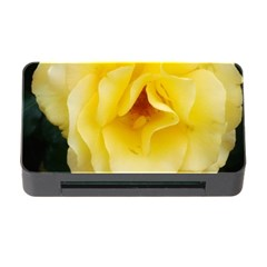 Pale Yellow Rose Memory Card Reader With Cf