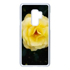Pale Yellow Rose Samsung Galaxy S9 Plus Seamless Case(white)