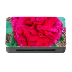 Folded Red Rose Memory Card Reader With Cf