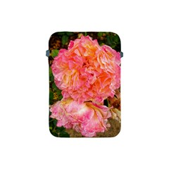 Folded Pink And Orange Rose Apple Ipad Mini Protective Soft Cases