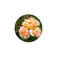 Bunch Of Orange And Pink Roses Golf Ball Marker (10 Pack) by okhismakingart