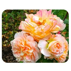Bunch Of Orange And Pink Roses Double Sided Flano Blanket (medium)
