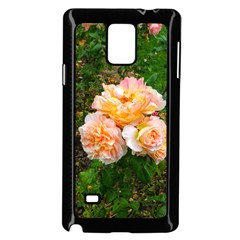 Bunch Of Orange And Pink Roses Samsung Galaxy Note 4 Case (black)