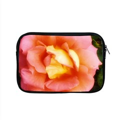 Light Orange And Pink Rose Apple Macbook Pro 15  Zipper Case