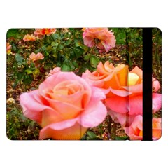 Pink Rose Field Samsung Galaxy Tab Pro 12 2  Flip Case