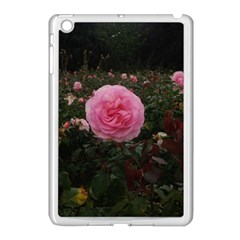 Pink Rose Field Ii Apple Ipad Mini Case (white)