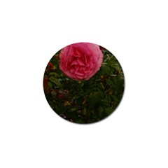 Round Pink Rose Golf Ball Marker (10 Pack) by okhismakingart