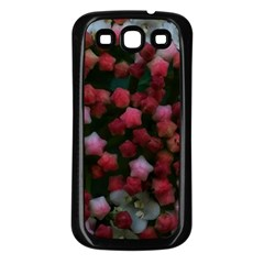 Floral Stars Samsung Galaxy S3 Back Case (black)
