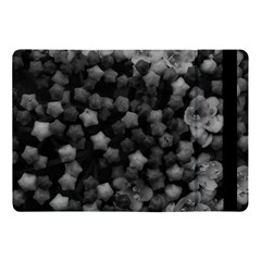 Floral Stars  Black And White Apple Ipad Pro 10 5   Flip Case