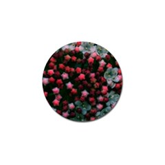 Floral Stars -bright Golf Ball Marker by okhismakingart
