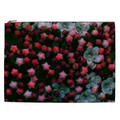 Floral Stars  Bright Cosmetic Bag (xxl)