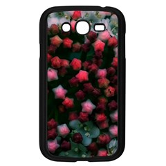 Floral Stars  Bright Samsung Galaxy Grand Duos I9082 Case (black)