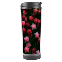 Floral Stars  Bright Travel Tumbler