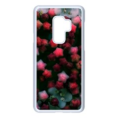 Floral Stars  Bright Samsung Galaxy S9 Plus Seamless Case(white)