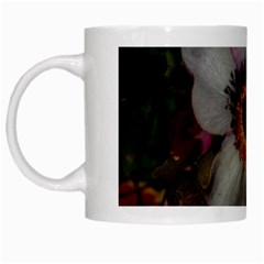Light Purple Blossoms White Mugs