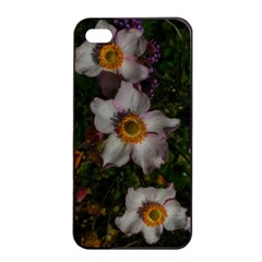 Light Purple Blossoms Iphone 4/4s Seamless Case (black)