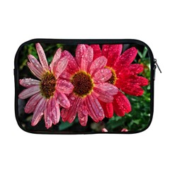 Three Dripping Flowers Apple Macbook Pro 17  Zipper Case