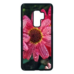 Three Dripping Flowers Samsung Galaxy S9 Plus Seamless Case(black) by okhismakingart