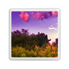Purple Afternoon Memory Card Reader (square)