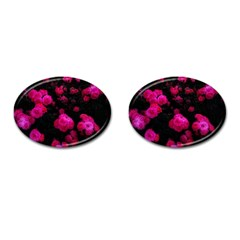 Bunches Of Roses Cufflinks (oval)