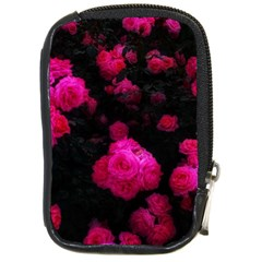 Bunches Of Roses Compact Camera Leather Case